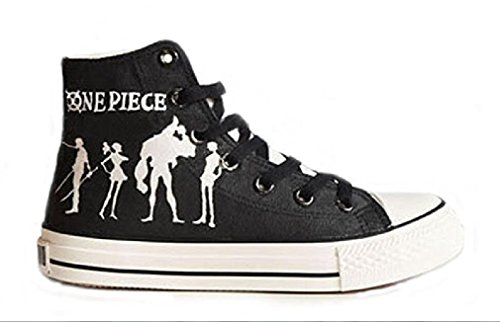 Bromeo One Piece Unisexe Toile Salut-Top Sneaker Baskets Mode Chaussures