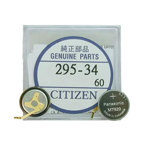 295-3400 Genuine Original Citizen Watch Energy Cell - Battery - Capacitor for Eco-Drive Watch (Same as 295-34)