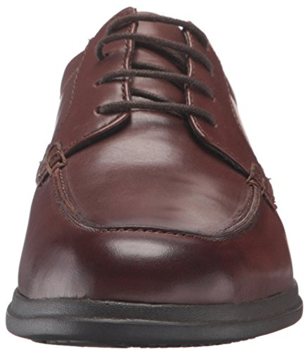 Mens Di Bostoniano Bordo Tifton Oxford Marrone