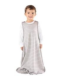 Baby Sleep Bag or Sack from Woolino, 4 Season Merino Wool Toddler Sleeping Bag, 2-4 Years, Earth