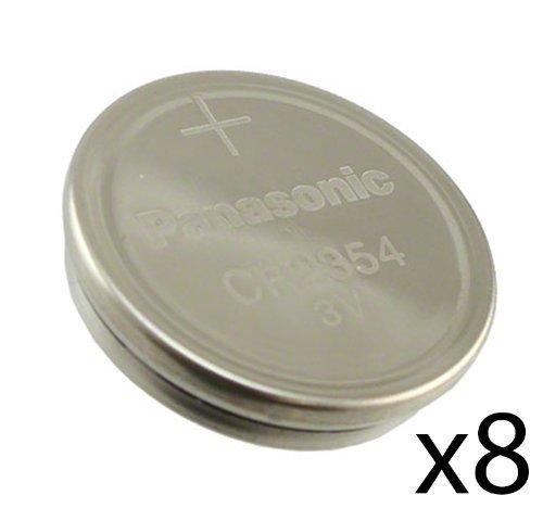 [ Pack of 8 ] Panasonic CR2354 2354 CR 2354 3V lithium BATTERIES
