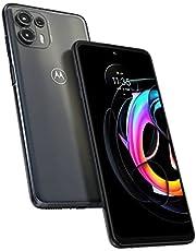 Motorola Edge 20 Lite Dual- SIM 128GB ROM + 8GB RAM (GSM Only | No CDMA) Factory Unlocked 5G Smartphone (Electric Graphite) - International Version