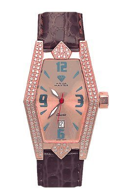 Aqua Master Ladies' Aqua-Diamond Watch, 1.50 ctw by Aqua Master