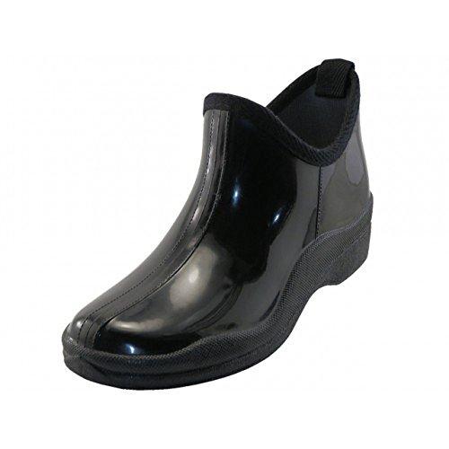 Scarpa Da Corsa In Gomma Altezza 100% Impermeabile Per Le Donne (nero)