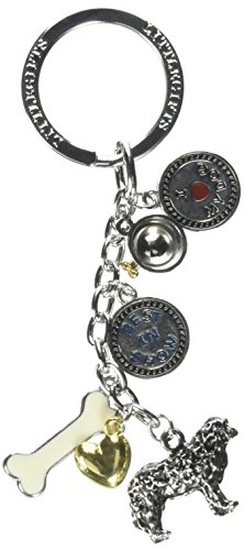 (Little Gifts 8313 6 Charm Breed Specific Key Chain (V3))