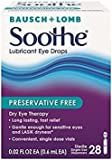 Bausch & Lomb Soothe Lubricant Eye Drops (Pack of 4)