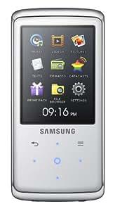 "Samsung YP-Q2 4GB - Reproductor MP3 (Color blanco, Flash-media, 4 GB, LCD, 6,1 cm (2.4""), 320 x 240 Pixeles)"
