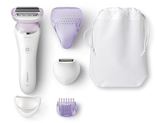 Philips SatinShave Prestige Wet & Dry Electric Lady Shaver with 5...
