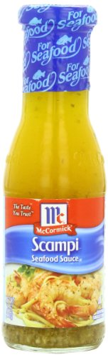 McCormick Golden Dipt Scampi Sauce, 7.5 oz (Case of 6) - Garlic Shrimp Scampi