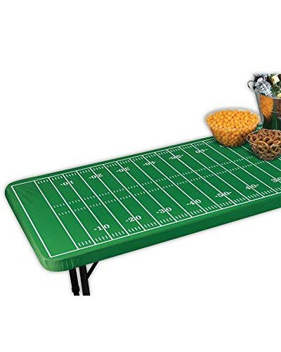 Amscan Fitted Football Field Table Cover, ()