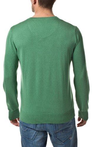 Tom Tailor Herren Sweater Pullover by Tom Tailor Jeans 2012 Star MOD 10727 grün D.G
