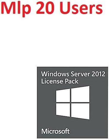 Microsoft Windows Remote Desktop Services CAL 2012 MLP 20 Users 2012