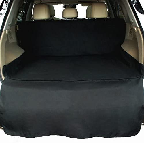NAC ZAC Waterproof SUV Cargo Liner, Pet Seat Cover with Extra Bumper Flap, Machine Washable Dog Cargo Cover