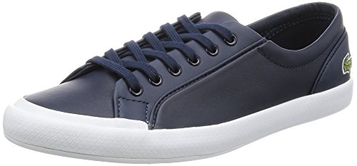 Lacoste Vrouwen Lancelle Bl 1 Spw Nvy Bas, Wit Blauw (nvy)