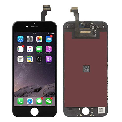 LCD Touch Screen Replacement Kit for iPhone 6 - Black