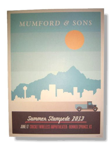 Mumford & Sons Summer Stampede 2013 Tour