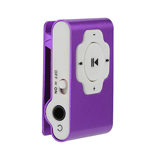 (Mini Portable USB MP3 Player Support Micro SD TF Card 32GB Sport Music Media | Card mp3 playerSilver,Red,Purple,Orange,Hot Pink,Green,Blue,Black)