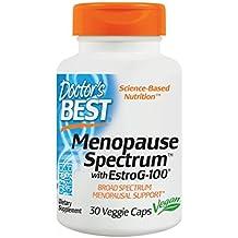 Doctor's Best Menopause Spectrum with EstroG-100, Non-GMO, Vegan, Gluten Free, Soy Free, 30 Veggie Caps