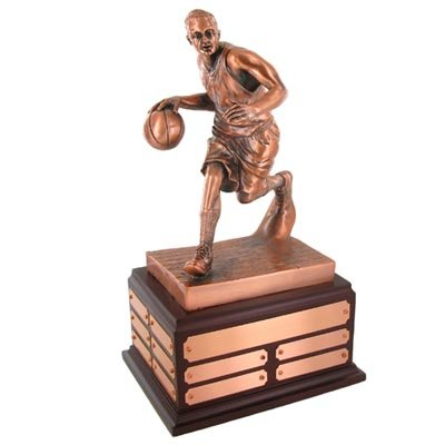 Perpetualオス図バスケットボールトロフィー B071WSKXS9
