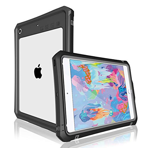 iPad Mini 5 Case, MOMOTS iPad 5/4 IP 68 Level Full-Body Protective with Built-in Waterproof Case for iPad Mini 4 Mini 5