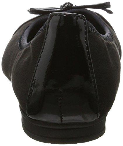 Flats Black Jana 22109 Ballet Women's A44t7P