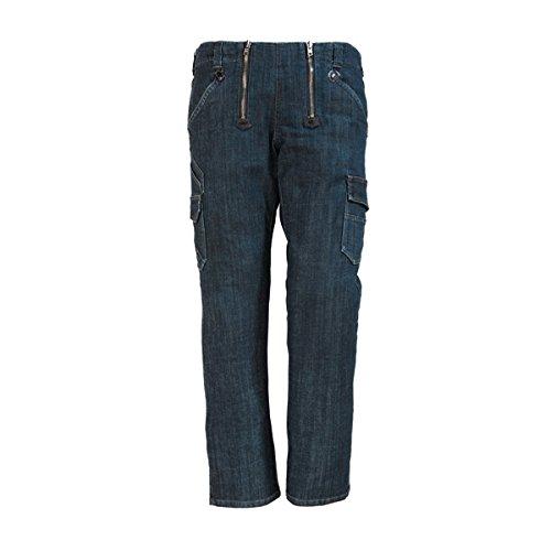 FHB Jeans-Zunft, Friedhelm, Größe 46, schwarz / blau, 22660-22-46