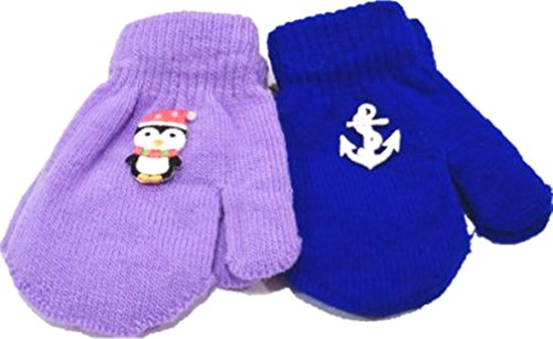 - Two Pairs Magic Mittens for Ages 3-12 Mpnths