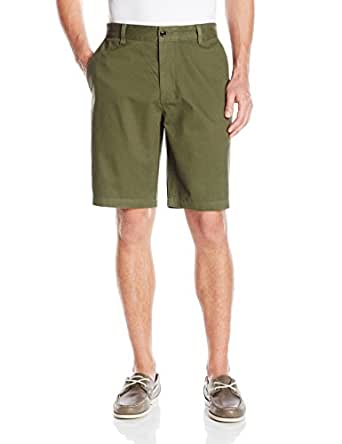 Dockers Men's Perfect D3 Classic Fit Flat Front Short, Dockers Olive, 36