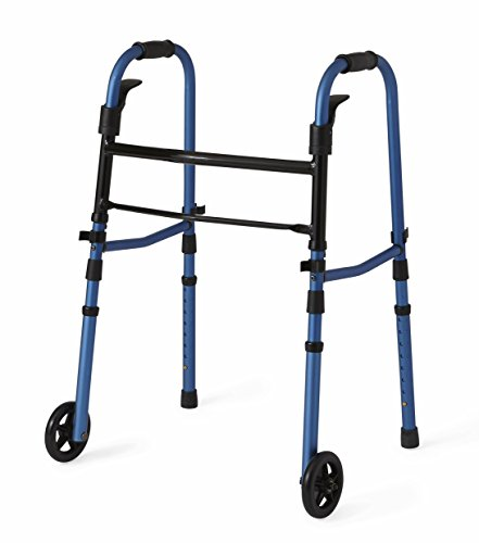 Medline Compact Folding Paddle Walker