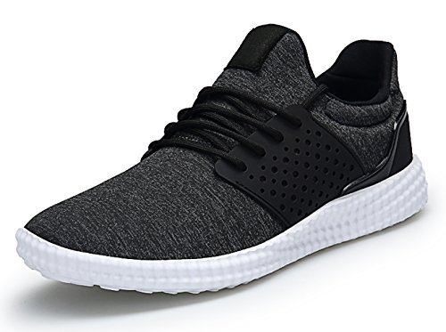 SKDOIUL Mens Fashion Comfortable Walking Shoes Wide Mesh Sneakers Men Blackwhite Size 8.5 (595-BlackWhite-42)