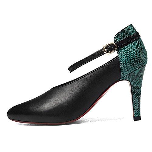 Nine SevenPumps - Zapatos de tacón  mujer Verde