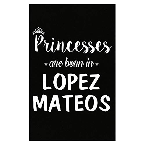 Inked Creatively Princesses are Born in Lopez Mateos Poster ()