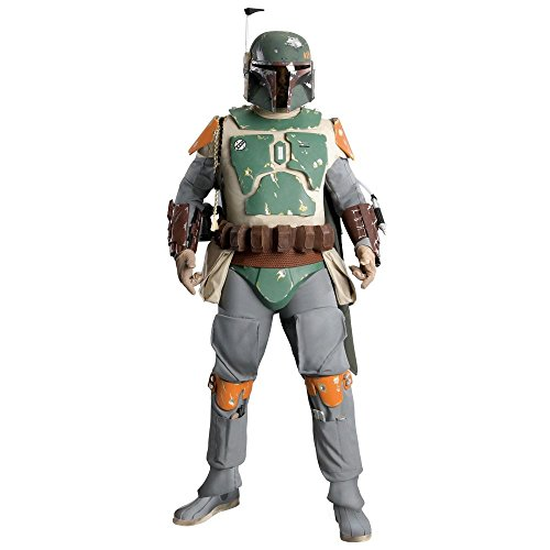 [Supreme Edition Boba Fett Costume - X-Large - Chest Size 50] (Codpiece Costumes)