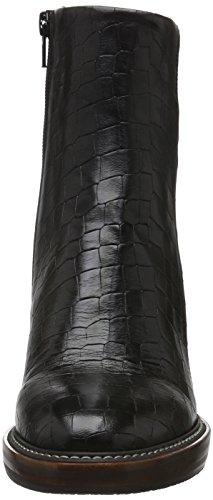 Boots Short Schwarz Women's Zinda Lined 2609 Bootees Shaft and Black Black Warm BxvIxYwq