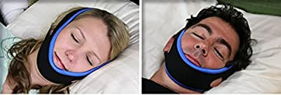 My Snoring Solution Anti Snoring Jaw Strap Supporter Stop Snoring Sleep Aid W/Bonus Sleep Success Program Free