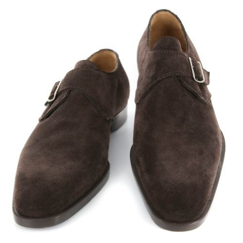New Sutor Mantellassi Brown Suede Shoes 12.5/11.5