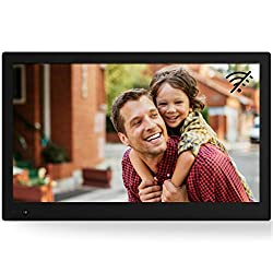 NIX Advance 17-Inch Widescreen Digital Photo Frame X17B - Full HD Digital Photo & Video Frame with Motion Sensor, Auto Rotate, Slideshow, Calendar Function & USB/SD Card Slots