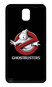Note 3 Case, Galaxy Note 3 Case, [Perfect Fit] Soft TPU Crystal Clear [Scratch Resistant] Ghostbusters Movie Logo Creativity Back Case Cover for Samsung Galaxy Note 3 N9000 Cases