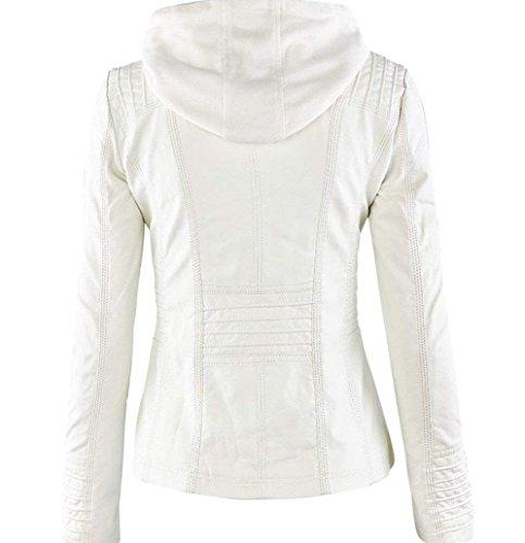 Giacca Bianco Bianco Donna Donna Bianco Qingxian Qingxian Giacca Bianco Giacca Qingxian Donna Qingxian Donna Giacca KzpTq6x