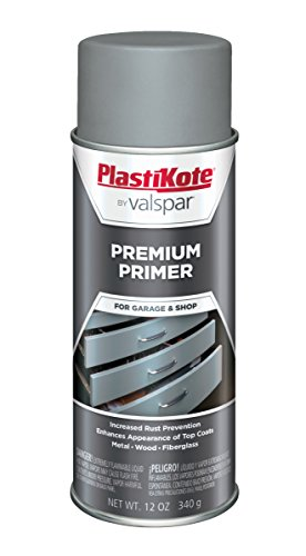 (PlastiKote T-18 Gray Premium Primer Enamel - 12 Oz.)