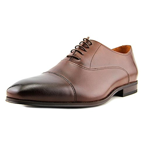 (Florsheim Mens Corbetta Cap Leather Lace Up Casual, Cognac Smooth, Size 10.0 Rm9)