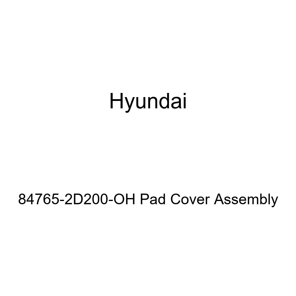 Genuine Hyundai 84765-2D200-SO Pad Cover Assembly