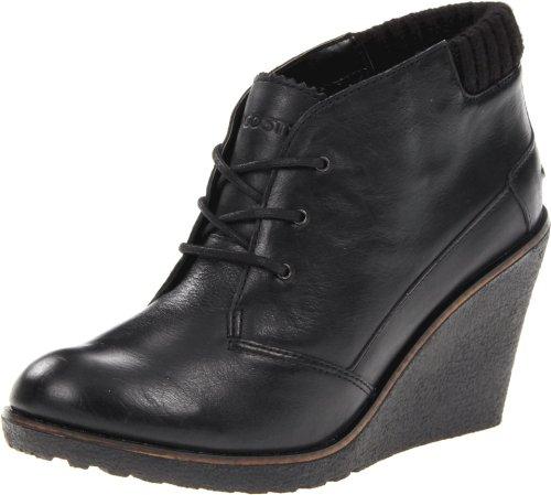 Lacoste Womens Leren2 Boot Black 6eRJN5Ccqq