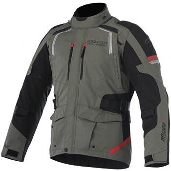 Alpinestars Andes V2 Drystar Men's Street Motorcycle Jackets - Green/Black/Red / 2X-Large