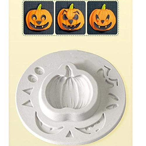 Aouke Halloween Pumpkin Shape Cake Mold Fondant Mold, For Jelly,Candy, Chocolate soap Mold, Decorating Bakeware G193