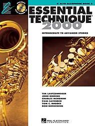 Hal Leonard Essential Technique for Band - Eb Alto Saxophone (Book 3 with (2000 Eb Alto Saxophone)