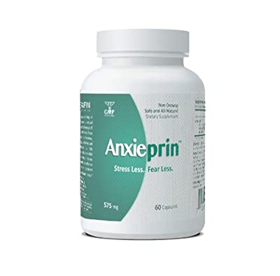 Anxieprin - Natural Stress & Anxiety Relief Supplement - Helps You Stay Calm & Relaxed