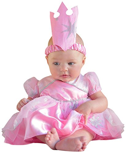 Princess Paradise Baby's The Wizard Of Oz Glinda Newborn Costume, Pink, 3 to 6 months (Deluxe Wizard Set Costume)