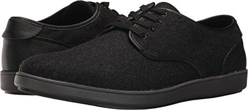 Steve Madden Men's Fasto Fashion Sneaker, Black Fabric, 11 US/US Size Conversion M (Mens Black Casual Shoes)