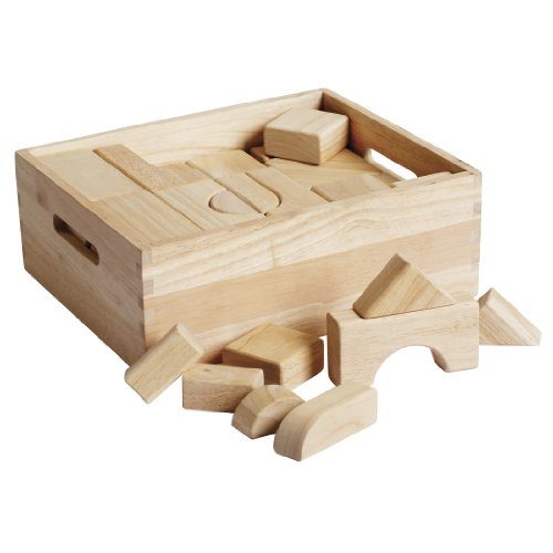 ECR4Kids Hardwood Building Blocks, 64-Pi - Hardwood Block Shopping Results